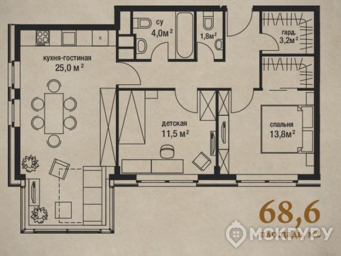 """""""Штат 18"""": стандарты элитного жилья переезжают за МКАД - Фото 40"""