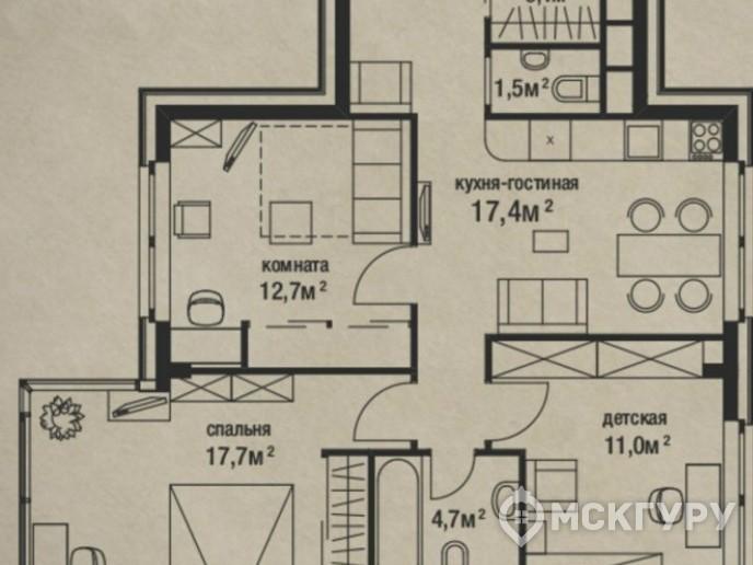"""""""Штат 18"""": стандарты элитного жилья переезжают за МКАД - Фото 39"""