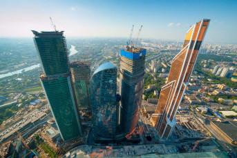 К 2018 году в Москва-Сити появится 9 новых небоскребов