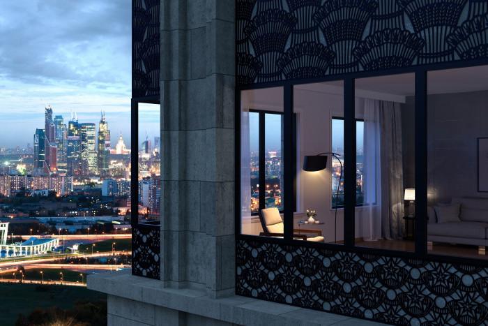 """Многофункциональный комплекс """"Искра-Парк"""" обретает черты: монолитный каркас дома готов на 50%"""