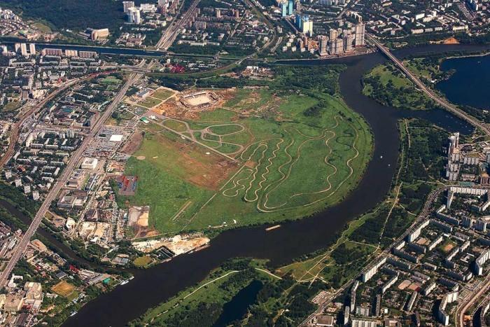 На месте Тушинского аэродрома построят более 1 млн. кв.м жилья