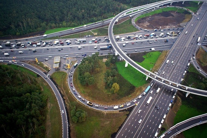 Началось строительство эстакады между Москвой и Щербинкой