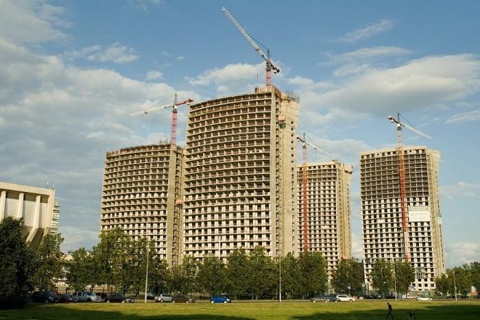 С января по ноябрь в Москве построено 2.6 млн. кв.м жилья
