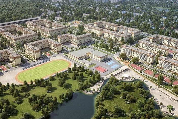 Строительство первой очереди комплекса «Красногорский» завершено