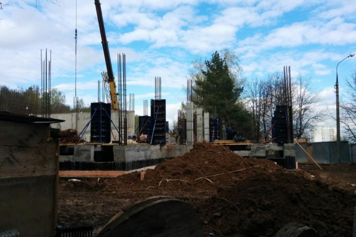 В Битцевском лесу остановлено незаконное строительство