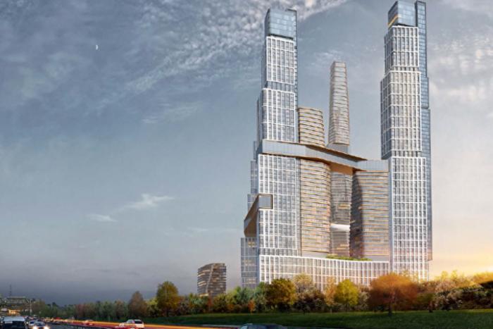 В ЮЗАО построят пять небоскребов