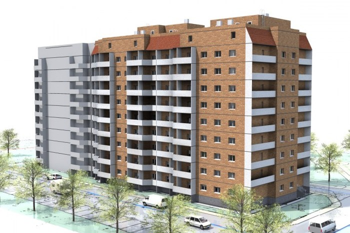 В САО построят новую многоэтажку на месте снесенной