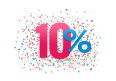 Скидка на апартаменты 10%