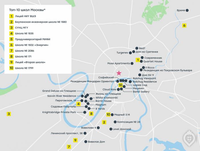 Названы новостройки возле лучших школ Москвы - Фото 1