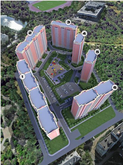 Квартиры в Дом на улице Высоковольтная (Дмитров) в Московской области, Дмитровский округ