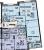 """Планировка двухкомнатной квартиры площадью 67.2 кв. м в новостройке ЖК """"Легенда"""""""