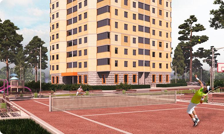 """Квартиры в ЖК """"Апельсин"""" в Московской области, Раменский округ"""