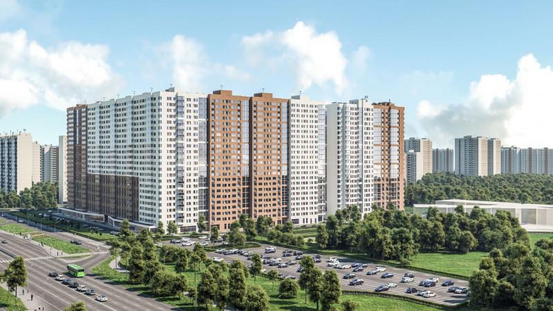 """Квартиры в ЖК """"FoRest""""   в МСК, ЗАО, метро Новопеределкино"""