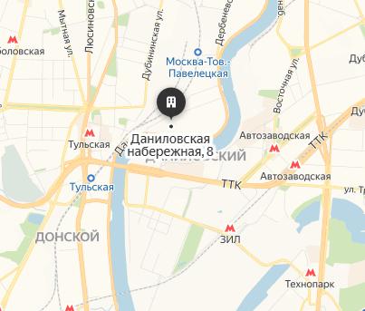 """Квартиры в ЖК """"Даниловская набережная, 8"""" в МСК, ЮАО, метро Тульская"""