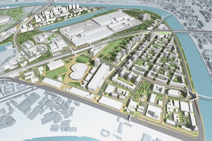 В московских промзонах можно построить до 60 млн квадратов недвижимости