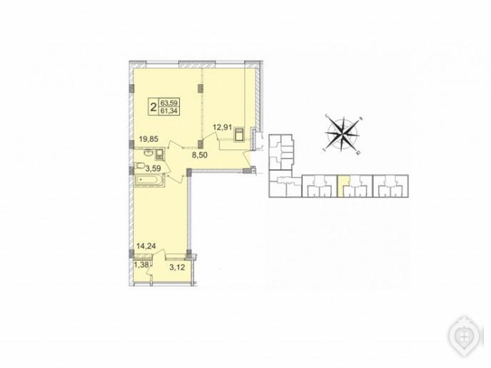 """Микрорайон """"Красногорский"""": ухоженный пригород с домами не выше 8 этажей - Фото 49"""
