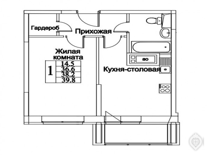"""ЖК """"Видный берег"""": комфорт-класс в полях - Фото 23"""