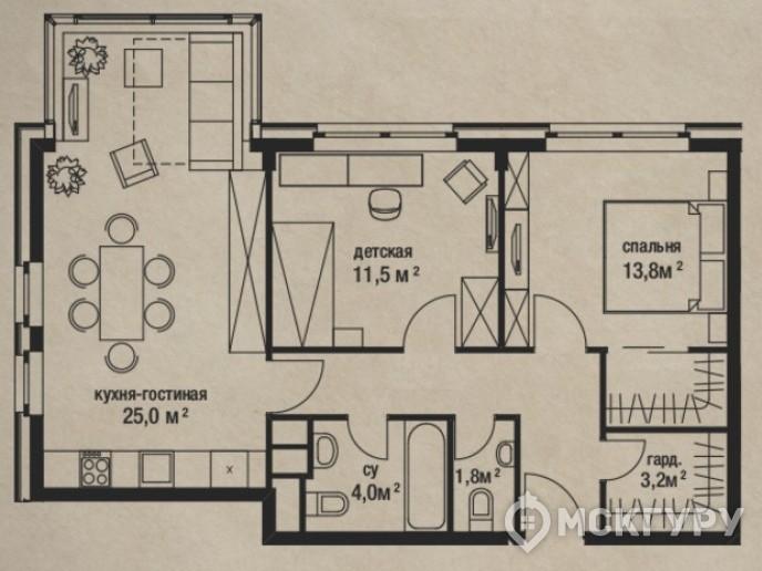 """""""Штат 18"""": стандарты элитного жилья переезжают за МКАД - Фото 36"""