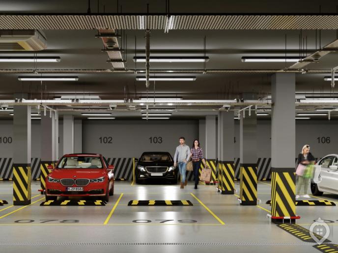 """ЖК """"Фонвизинский"""": скромный паркинг, но до метро 100 метров - Фото 4"""