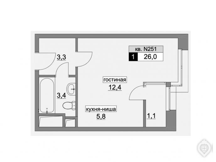"""ЖК """"Румянцево парк"""": бизнес-класс с промзоной через дорогу - Фото 19"""