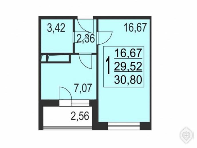 """Микрорайон """"Красногорский"""": ухоженный пригород с домами не выше 8 этажей - Фото 47"""