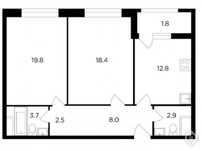"""ЖК """"Серебряный парк"""": бизнес-класс в окружении промзоны, но зато у воды и парка - Фото 19"""