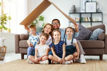 Многодетные семьи не будут платить налог на имущество