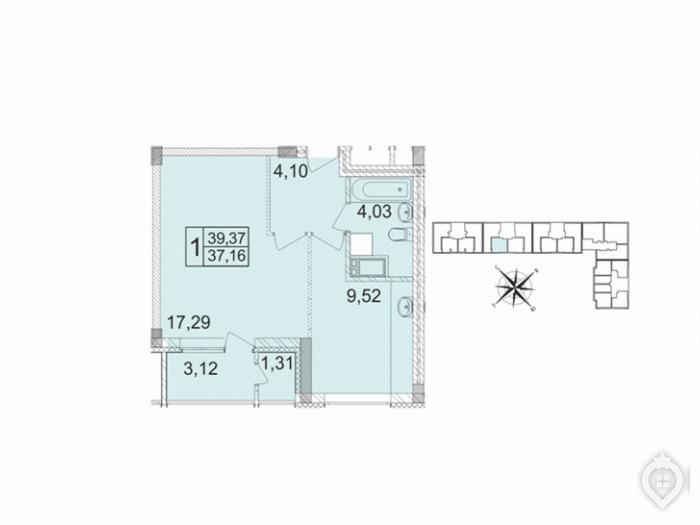 """Микрорайон """"Красногорский"""": ухоженный пригород с домами не выше 8 этажей - Фото 48"""