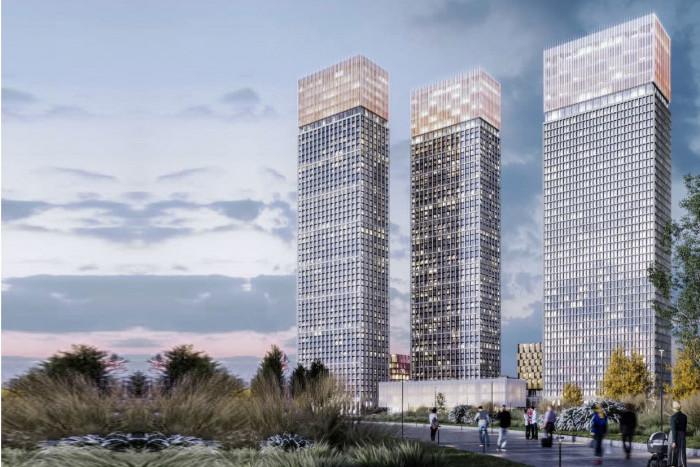 """MR Group разрешили открыть продажи в небоскребах ЖК """"MOD"""""""