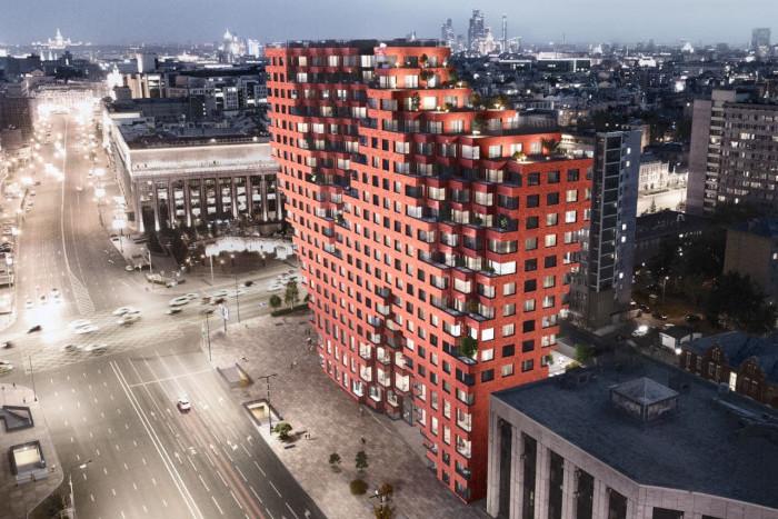 """На рынок выведены апартаменты в комплексе """"Red7"""""""