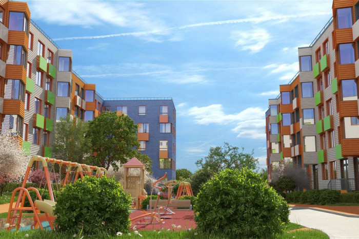 """На рынок выведены квартиры с террасами в городе-курорте """"Май"""""""