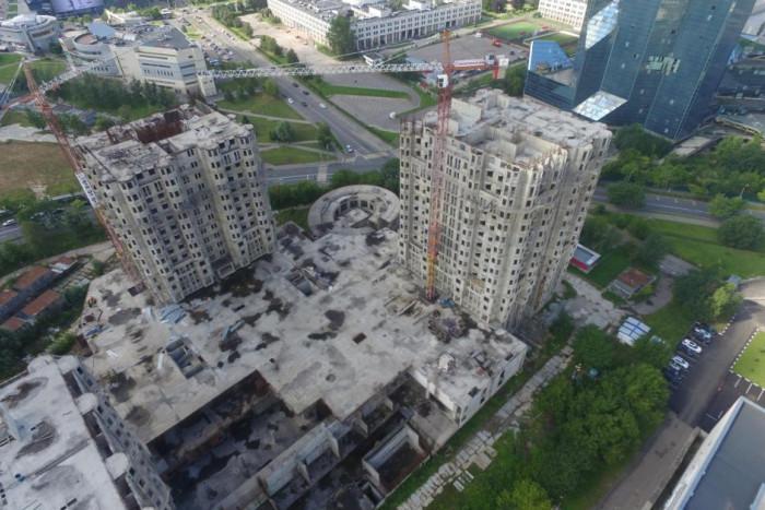 """Найден застройщик для завершения проблемного жилого комплекса """"Академ-Палас"""""""