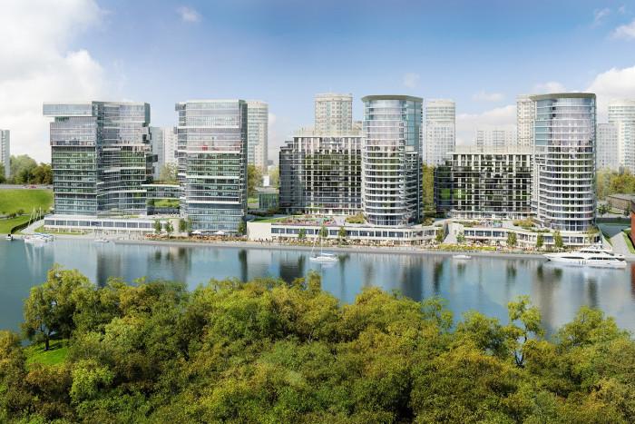 """В многофункциональном комплексе """"Aquatoria"""" началась продажа нового пула квартир"""