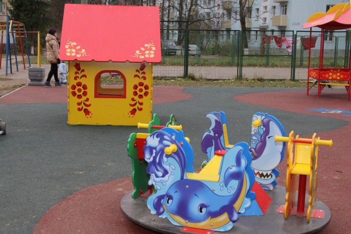 В Московской области установили 112 детских площадок с начала года