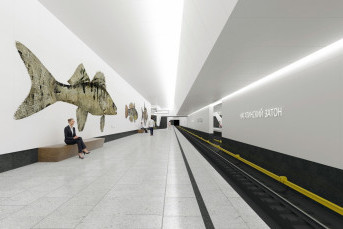 В Нагатинском Затоне проложат новые ветки метро