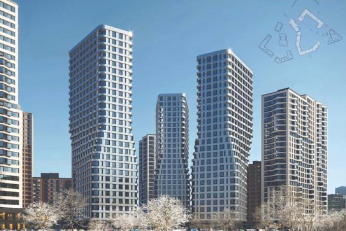 """В промзоне """"Серп и молот"""" построят башни по проекту ATRIUM"""