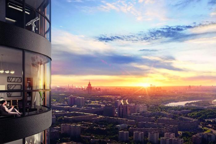 ВТБ24 аккредитовал самый высокий комплекс в Москве