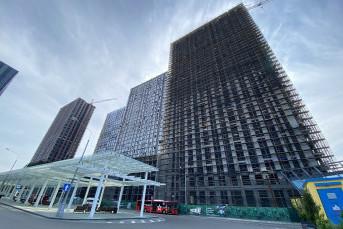 """ЖК """"Дискавери парк"""": 30-этажные башни у метро с панорамой на лесопарк"""