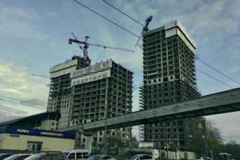 """ЖК """"Фонвизинский"""": скромный паркинг, но до метро 100 метров"""